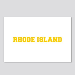 RHODE ISLAND-Fre gold 600 Postcards (Package of 8)