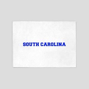 South Carolina-Fre blue 600 5'x7'Area Rug
