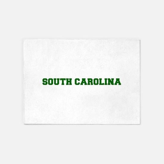 SOUTH CAROLINA-Fre d green 600 5'x7'Area Rug