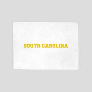 SOUTH CAROLINA-Fre gold 600 5'x7'Area Rug