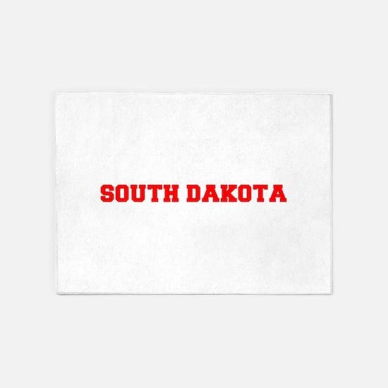 SOUTH DAKOTA-Fre red 600 5'x7'Area Rug