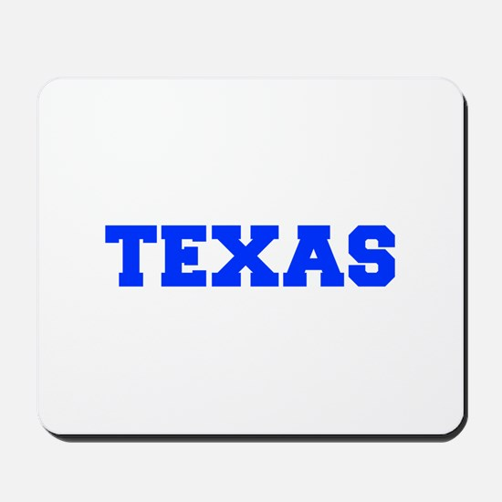 Texas-Fre blue 600 Mousepad