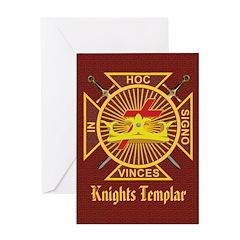 Knights Templar Greeting Card