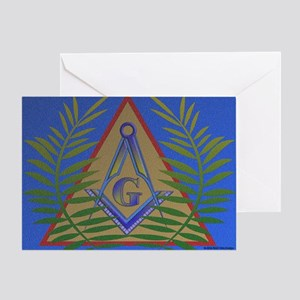 Masonic Acacia Greeting Card