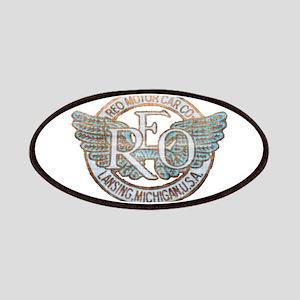 REO Motor Car Co. Retro Logo Patch
