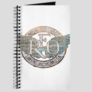 REO Motor Car Co. Retro Logo Journal