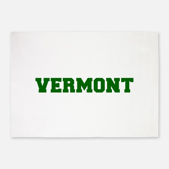 VERMONT-Fre d green 600 5'x7'Area Rug