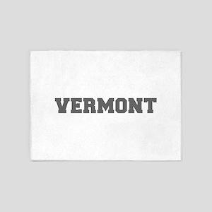 VERMONT-Fre gray 600 5'x7'Area Rug