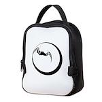 Moon and Bat Neoprene Lunch Bag