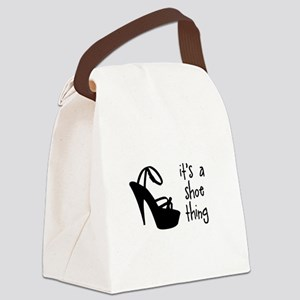 Shoe Thing Canvas Lunch Bag