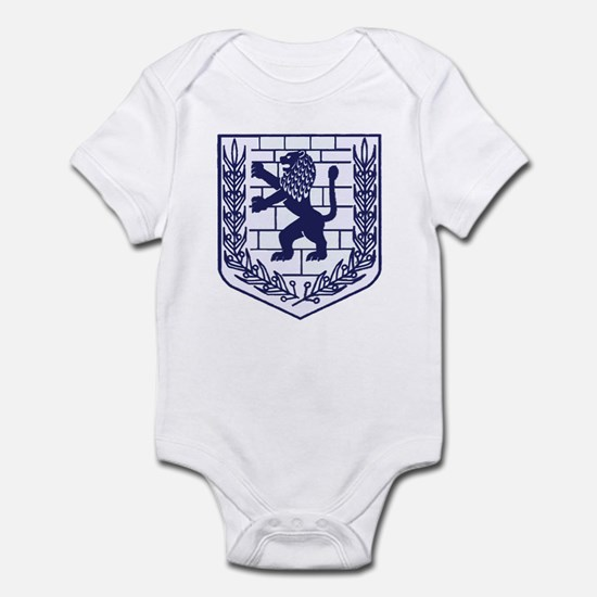 Lion of Judah White Infant Bodysuit
