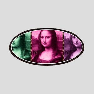 Mona Lisa Animal Print Green Pink Purple Patch