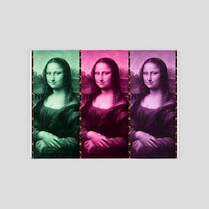 Mona Lisa Animal Print Green Pink Purple 5'x7'Area