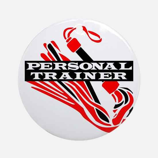 Personal Trainer Ornament (Round)