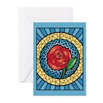Celtic Rose Greeting Cards (Pk of 20)