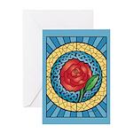 Celtic Rose Greeting Card