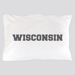 WISCONSIN-Fre gray 600 Pillow Case