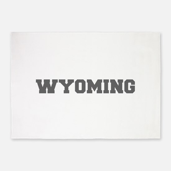 WYOMING-Fre gray 600 5'x7'Area Rug