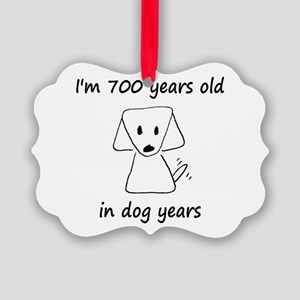 100 dog years 6 - 2 Ornament