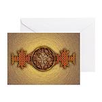 Celtic Knotwork Enamel Greeting Cards (Pk of 20)