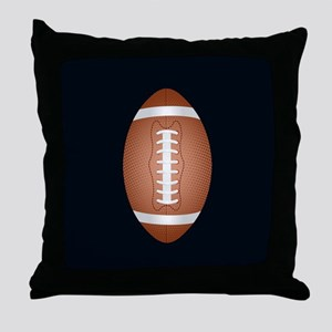 Football ball Throw Pillow