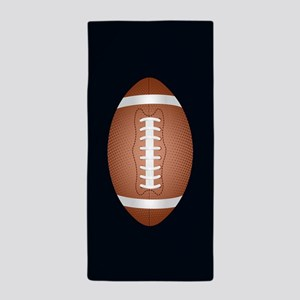 Football ball Beach Towel