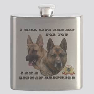 GSD Live and Die For You Flask