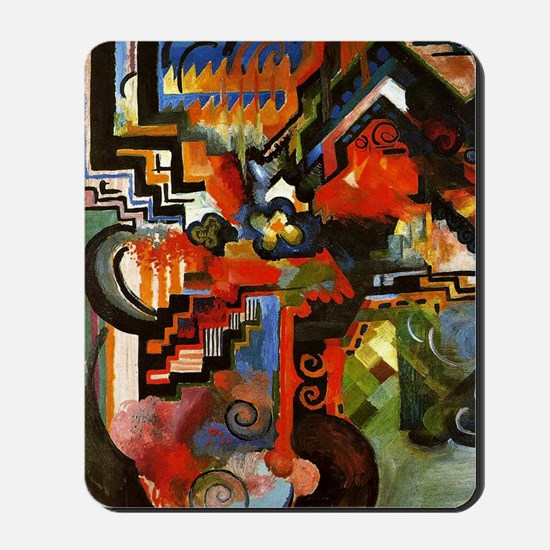 Macke - Colored Composition Mousepad
