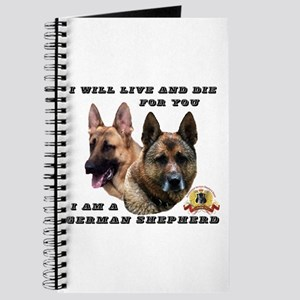 GSD Live and Die For You Journal