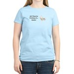 Christmas Garlic Women's Light T-Shirt