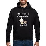 Christmas Garlic Hoodie (dark)