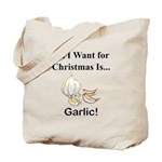 Christmas Garlic Tote Bag