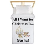 Christmas Garlic Twin Duvet