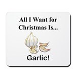 Christmas Garlic Mousepad