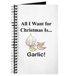 Christmas Garlic Journal