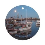 Rye Harbor Ornament (Round)