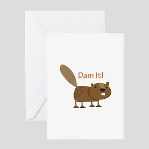 Damn it Beaver! Greeting Cards