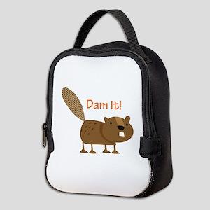 Damn it Beaver! Neoprene Lunch Bag