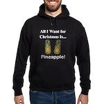 Christmas Pineapple Hoodie (dark)