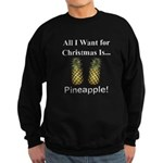 Christmas Pineapple Sweatshirt (dark)