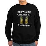 Christmas Pineapple Sweatshirt (dark)