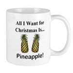Christmas Pineapple Mug