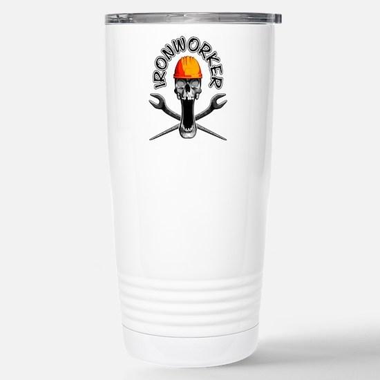 Ironworker Skull 3 Travel Mug
