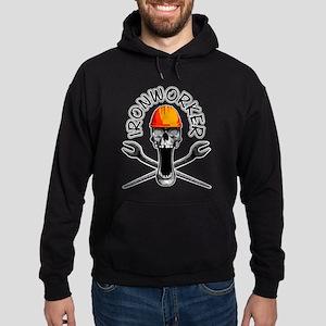 Ironworker Skull 3 Hoodie