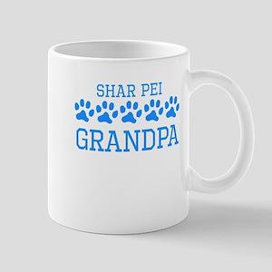 Shar Pei Grandpa Mugs