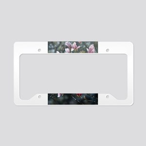 Magnolias License Plate Holder