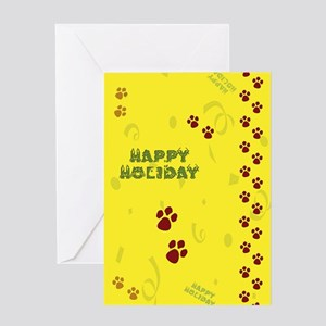 Pet Holiday Greeting Card