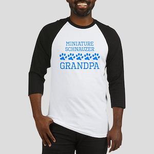 Miniature Schnauzer Grandpa Baseball Jersey