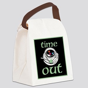 OYOOS Time Out Coffee Cup design Canvas Lunch Bag