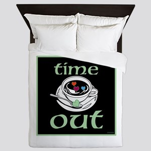 OYOOS Time Out Coffee Cup design Queen Duvet